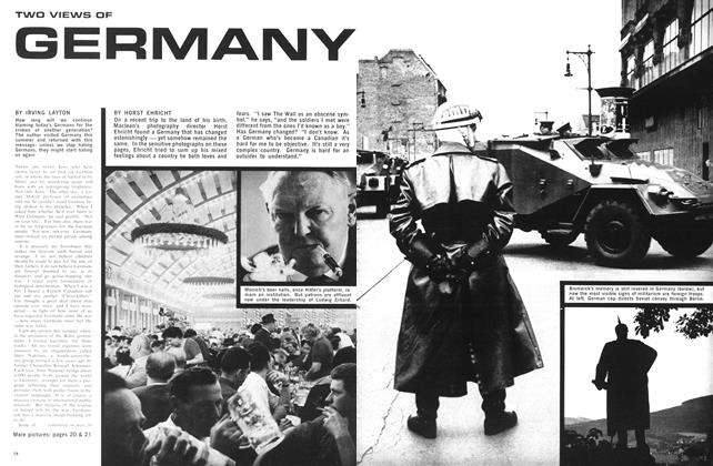 Article Preview: TWO VIEWS OF GERMANY, November 1966 | Maclean's