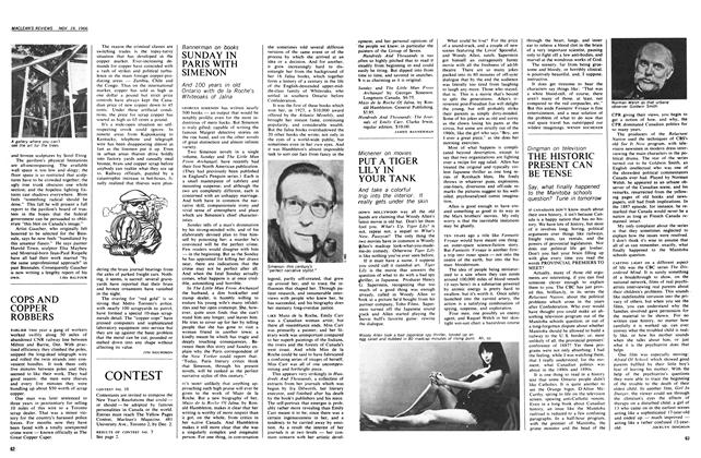 Article Preview: SUNDAY IN PARIS WITH SIMENON, November 1966 | Maclean's