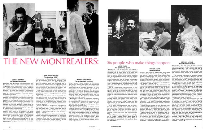 Article Preview: THE NEW MONTREALERS, December 1966 | Maclean's
