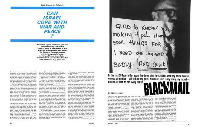 Article Preview: BLACKMAIL, December 1966 | Maclean's