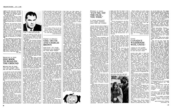Article Preview: ONE BOOK TO READ ON THE GROUND, December 1966 | Maclean's