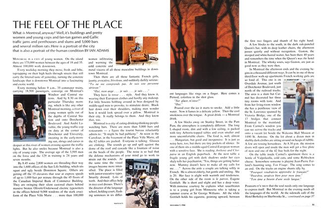 Article Preview: THE FEEL OF THE PLACE, December 1966 | Maclean's