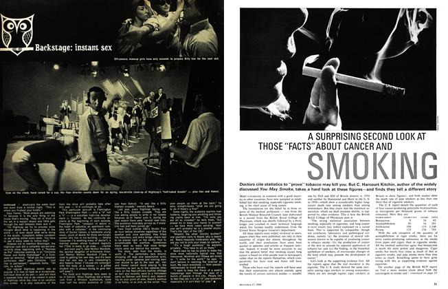 "Article Preview: A SURPRISING SECOND LOOK AT THOSE ""FACTS""ABOUT CANCER AND SMOKING, December 1966 
