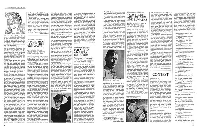 Article Preview: A FILM THAT IS JUST LIKE THE MOVIES, December 1966 | Maclean's