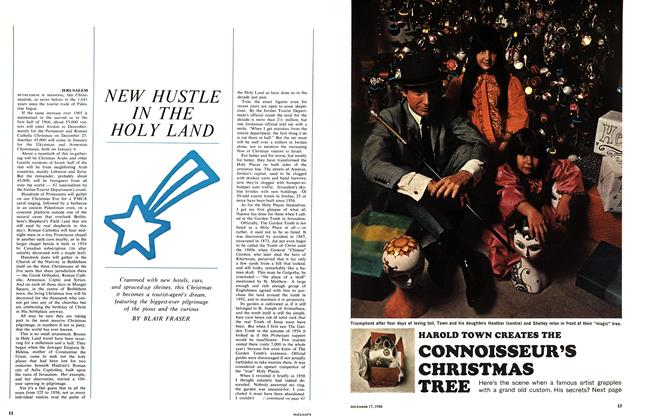Article Preview: NEW HUSTLE IN THE HOLY LAND, December 1966 | Maclean's