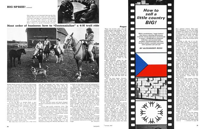 Article Preview: How to sell a little country BIG!, January 1967 | Maclean's