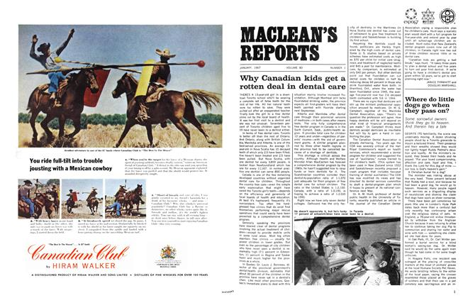 Article Preview: Where do little dogs go when they pass on?, January 1967 | Maclean's