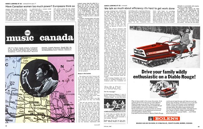 Article Preview: Get the message?, January 1967 | Maclean's