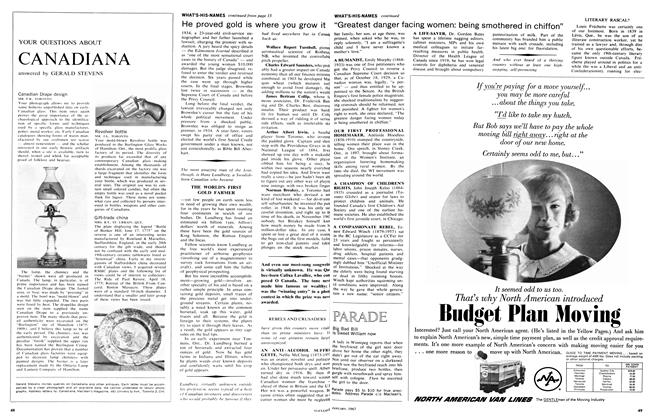 Article Preview: Big Bad Bill is Sweet William now, January 1967 | Maclean's