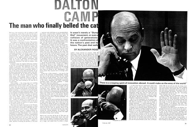 Article Preview: The man who finally belled the cat, February 1967 | Maclean's