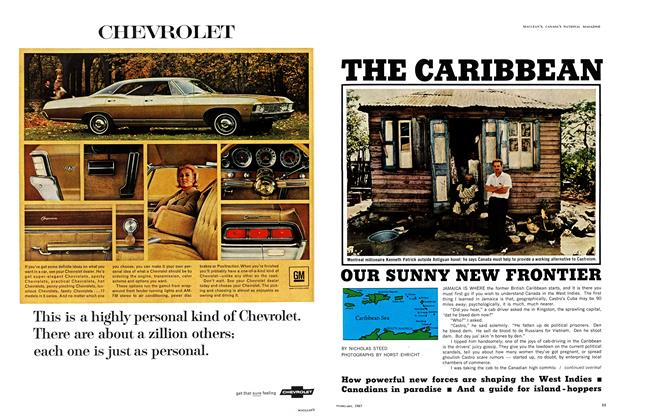 Article Preview: OUR SUNNY NEW FRONTIER, February 1967 | Maclean's