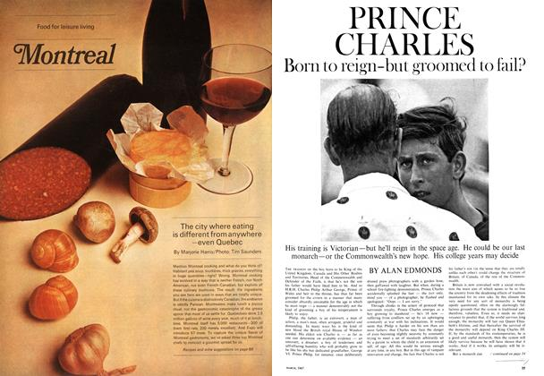 Article Preview: PRINCE CHARLES Born to reign-but groomed to fail?, March 1967 | Maclean's