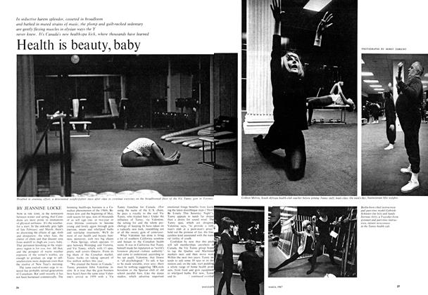 Article Preview: Health is beauty, baby, March 1967 | Maclean's