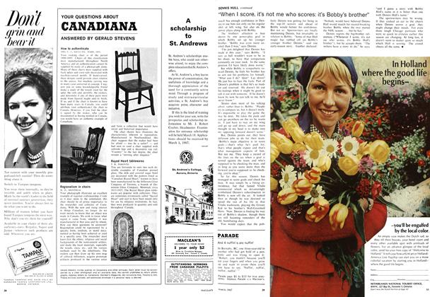 Article Preview: And 4 nuffin'-s are nuffin', March 1967 | Maclean's