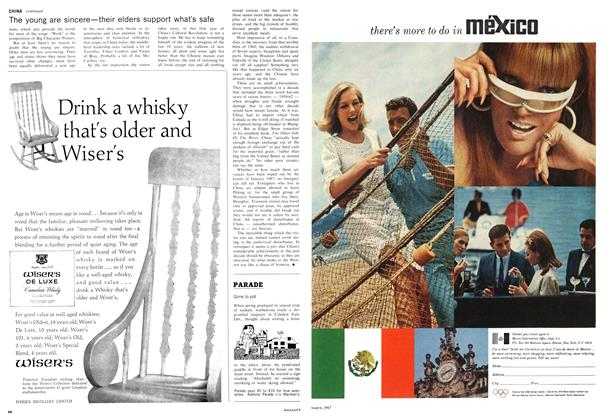 Article Preview: Gone to pot, March 1967 | Maclean's