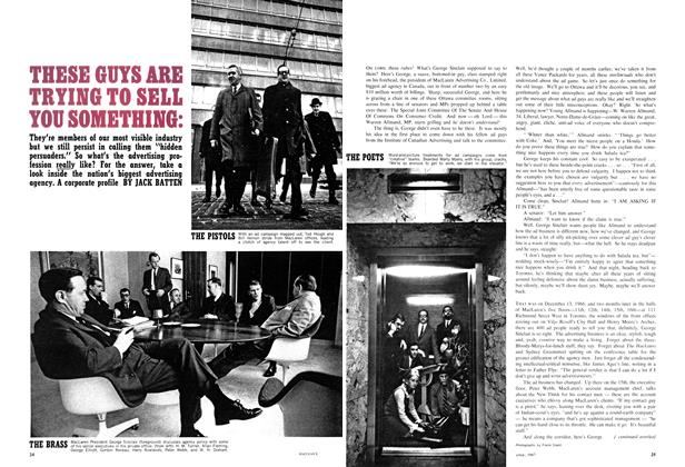 Article Preview: THESE GUTS ARE TRYING TO SELL YOU SOMETHING:, April 1967 | Maclean's