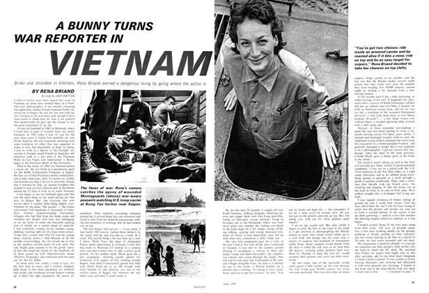 Article Preview: A BUNNY TURNS WAR REPORTER IN VIETNAM, April 1967 | Maclean's
