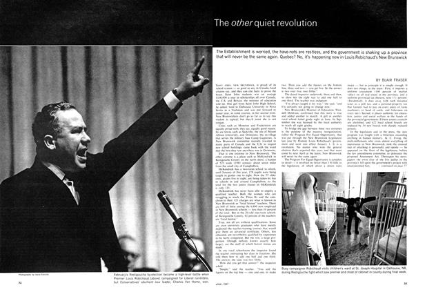Article Preview: The other quiet revolution, April 1967 | Maclean's