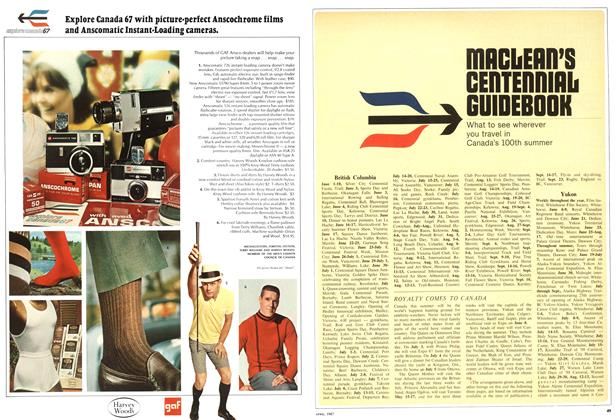 Article Preview: MACLEAN'S CENTENNIAL GUIDEBOOK, April 1967 | Maclean's