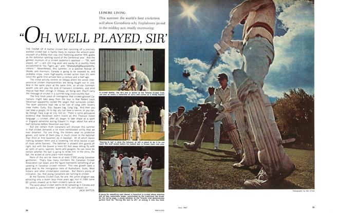 "Article Preview: ""OH, WELL PLAYED, SIR', May 1967 