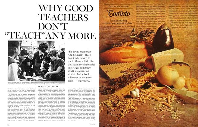 "Article Preview: WHY GOOD TEACHERS DON'T ""TEACH"" ANY MORE, May 1967 