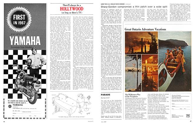 Article Preview: There'll always be a HOLLYWOOD, May 1967 | Maclean's