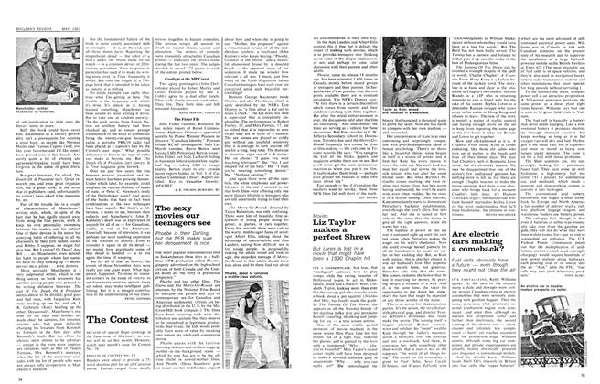 Article Preview: The sexy movies our teenagers see, May 1967 | Maclean's