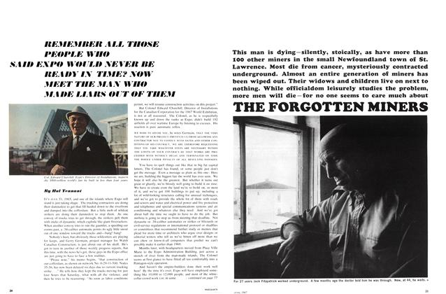 Article Preview: THE FORGOTTEN MINERS, June 1967 | Maclean's