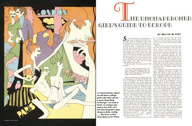Article Preview: THE UNCHAPERONED GIRL'S GUIDE TO EUROPE, June 1967   Maclean's