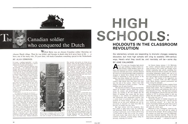 Article Preview: The Canadian soldier who conquered the Dutch, June 1967 | Maclean's