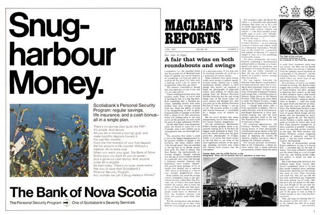 Article Preview: A fair that wins on both roundabouts and swings, June 1967 | Maclean's