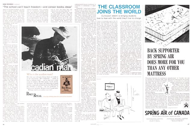 Article Preview: THE CLASSROOM JOINS THE WORLD, June 1967 | Maclean's