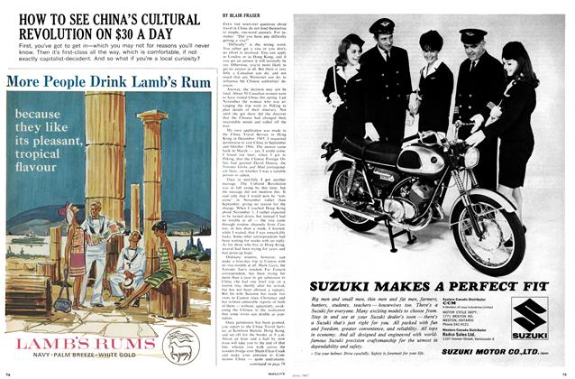 Article Preview: HOW TO SEE CHINA'S CULTURAL REVOLUTION ON $30 A DAY, June 1967 | Maclean's