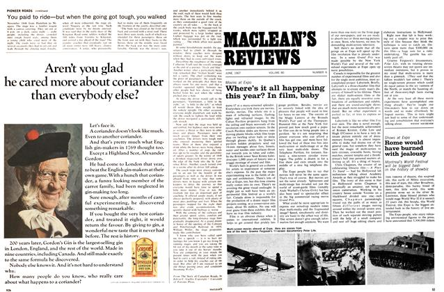 Article Preview: Rome would have burned with jealousy, June 1967 | Maclean's