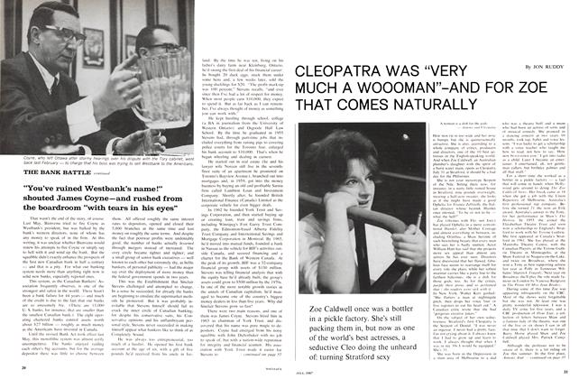 "Article Preview: CLEOPATRA WAS ""VERY MUCH A WOOOMAN""-AND FOR ZOE THAT COMES NATURALLY, July 1967 
