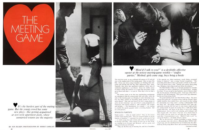 Article Preview: THE MEETING GAME, July 1967 | Maclean's