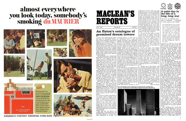 Article Preview: An Eaton's catalogue of promised dream towers, July 1967 | Maclean's