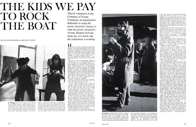 Article Preview: THE KIDS WE PAY TO ROCK THE BOAT, August 1967 | Maclean's