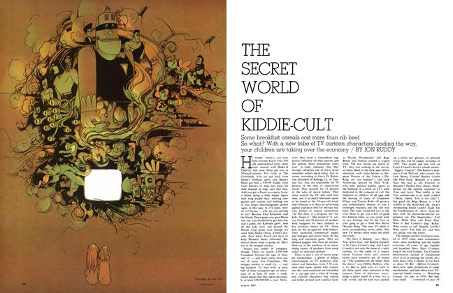 Article Preview: THE SECRET WORLD OF KIDDIE-CULT, August 1967 | Maclean's