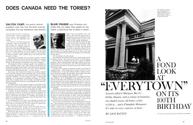 "Article Preview: A FOND LOOK AT ""EVERYTOWN"" ON ITS 100TH BIRTHDAY, September 1967 