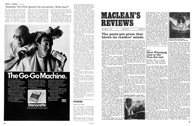Article Preview: How Winnipeg rose to the Pan-Am test, September 1967   Maclean's