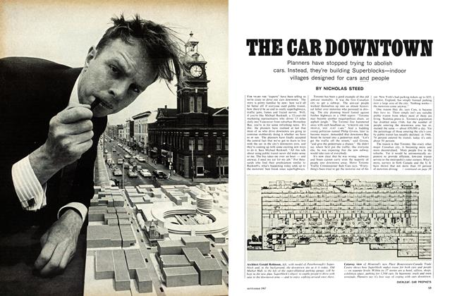 Article Preview: THE CAR DOWNTOWN, September 1967 | Maclean's