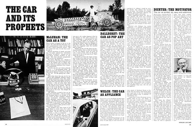 Article Preview: THE CAR AND ITS PROPHETS, September 1967 | Maclean's