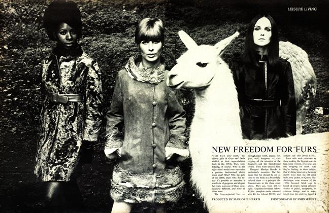Article Preview: NEW FREEDOM FOR FURS, October 1967 | Maclean's