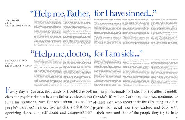 Article Preview: HELP ME, FATHER, FOR I HAVE SINNED, October 1967 | Maclean's