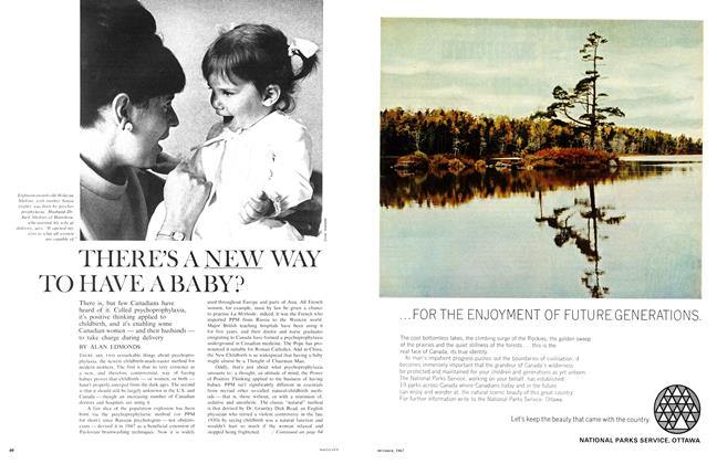 Article Preview: THERE'S A NEW WAY TO HAVE A BAY?, October 1967 | Maclean's