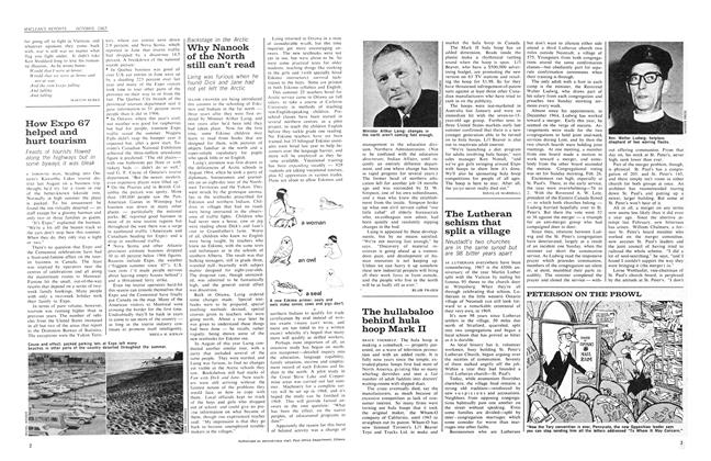 Article Preview: The Lutheran schism that split a village, October 1967 | Maclean's