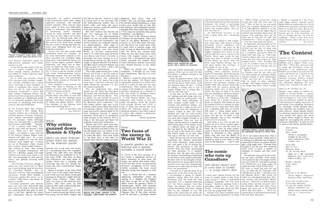 Article Preview: The comic who cuts up Canadians, October 1967 | Maclean's
