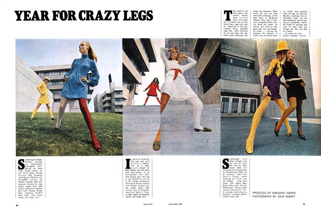 Article Preview: YEAR FOR CRAZY LEGS, November 1967 | Maclean's