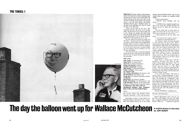 Article Preview: The day the balloon went up for Wallace McCutcheon, November 1967 | Maclean's